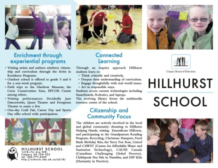 Hillhurst Brochure cover