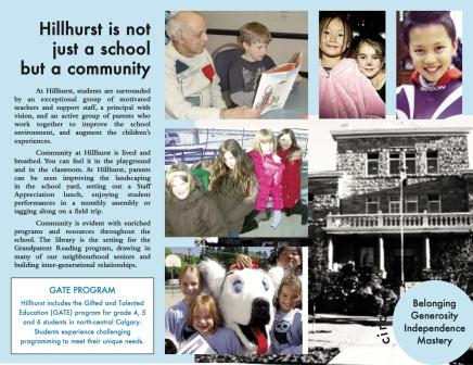 Hillhurst Brochure inside